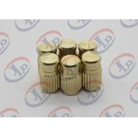 China ISO SGS CNC Production Machining Blind Via Hole Brass Nuts With M3 Internal Thread wholesale