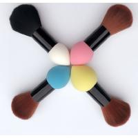 Quality Double Head Makeup Foundation Brush Powder Puff  Synthetic Hair and Sponge Hair Material for sale