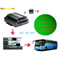 China M718 Full HD 1080P Car DVR Support Iphone / Android  , 8 Channel D1 Resolution wholesale
