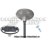 China Hitechled 30W Smart UFO all in one integrated solar LED garden light, 360 degree lighting solar area light, HT-SG-UFO30 on sale