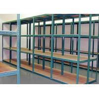 China Light duty industrial warehouse slotted angle rack wholesale