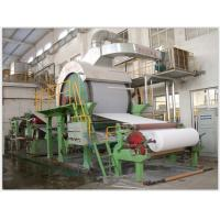China Width 3200mm Corrugated Paper Making Machine Steel Material Speed Control Alternating Current wholesale