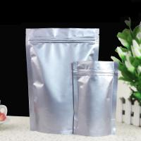 China Waterproof Stand Up Foil Pouch Packaging Pure Aluminum Foil Bag For Coffee / Tea wholesale