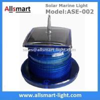 China 15 LED Blue Flash Solar Marine Aquaculture Lights With Spike Drive Bird Needle Sea Ship Signal Solar Buoy Security Lamp wholesale