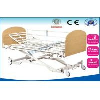 China Extension Semi Fowler Electric Nursing Beds , 3 Function Critical Care Beds wholesale