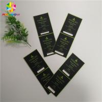 China Eco - Friendly Custom Print Self Adhesive Sticker Label In Packing Polyester wholesale