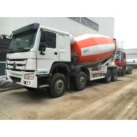 China 8×4 12m3 - 16m3 Concrete Mixer Truck Sinotruk Howo With External Force Resistance wholesale