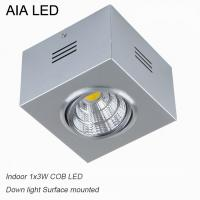China IP42 Silver indoor COB 3W Ceiling down light&LED Grille light for kitchen used wholesale