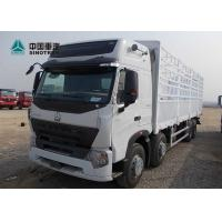 China A7 Heavy Cargo Truck / Howo Tractor Truck ST16 Drive Axle With 800mm Fence wholesale