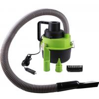 China Black Green Handheld Vacuum Cleaner For Car , 93w - 120w Car Dust Cleaner wholesale