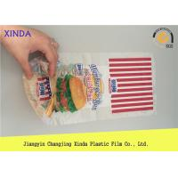 Quality High Transparent CPP Plastic Bread Storage Bags With Customized Logo Printing for sale