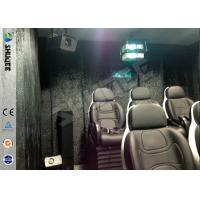 China Truck Mobile 5D Movie Theater , 4 Wheels Set 6 Seats Cinema Movies Theater wholesale