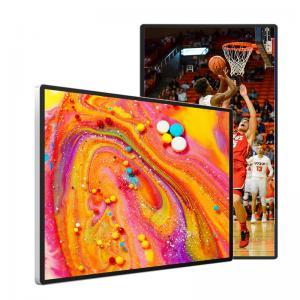 China 4mm Tempered Glass Indoor Digital Advertising Screens RAM 2G ROM 8G wholesale