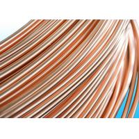 China Easy To Bend Refrigeration Copper Tube 4.76 * 0.5mm , 25% Elongation wholesale