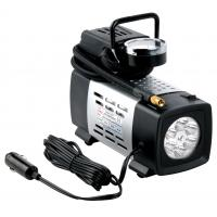 China Silver Metal heavy duty portable air compressor 12v180 W Fast Inflation wholesale