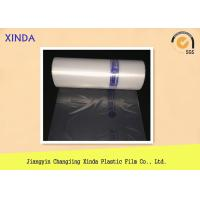 Quality LDPE 100% PE raw new material food grade bag rolls plastic edge eco-friendly for sale
