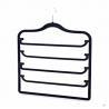 Buy cheap Heavy Duty Revolving Flocked Velvet Trouser Hangers With 4 Staffs 6kg Load Capacity from wholesalers