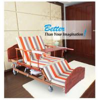 China Nursing Metal High Load Manual Adjustable Bed With ISO / CE / FDA Certificate wholesale