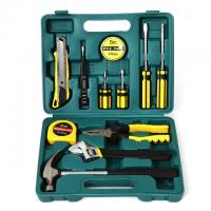 China 12PCS Professional Household Hand Tools Set Mechanical Tool Kit Emergency Hand Tool Set on sale