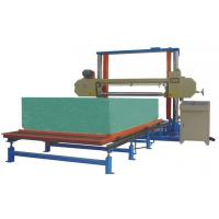 China High And Low Density Foam Cutting Equipment For Sponge Block With 6m Table wholesale