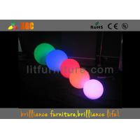 China Waterproof Balls LED Christmas Decorations 16 Colors Changeable For Hotels wholesale