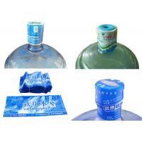 China 5 Gallon Water Bottle Neck Seal Shrink Sleeve With Custom Printing wholesale