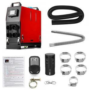 China 4 Holes All In One 12v 8kw Diesel Air Heater / Remote Control Diesel Heater wholesale