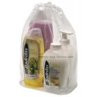 Durable PVC Drawstring Bags Great Performance 8*15*26CM For Bathrooms