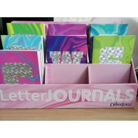 China Saddle Binding Colorful Letter Custom Journal Printing For Children And Adult wholesale