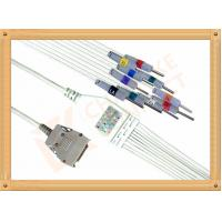 China Mortara Ecg Monitor Cable One Piece Ecg Cable 10 Lead wires Needle AHA wholesale