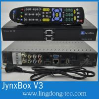 Quality North America Jynxbox Ultra V3 HD FTA Receiver with JB200 and Wifi satellite for sale