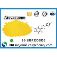 Buy cheap Atovaquone API Pharmaceutical for Antiviral Drugs Raw antipneumocystic effects from wholesalers