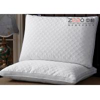 China Plain Style Original Hotel Comfort Pillows Multi Function With ISO9001 Certificate wholesale