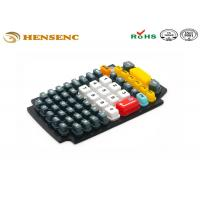 China OEM Rubber Plastic Molding Keypad , Flexible Rubber Molding Game Button wholesale
