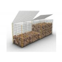 China Galfan Landscaping Stone Decorative Welded Mesh Gabions , Welded Gabion Cages on sale