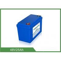 China 48V 25Ah Lithium Golf Cart Batteries Low Self - Discharge Rate wholesale