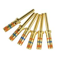 China Gold Plated Mil Spec Connectors Pin & Socket Contacts Size 20 wholesale