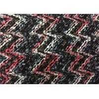 China Fancy Pattern 62T 38A Colorful Wool Blend Fabric For Suit Coat Hat wholesale