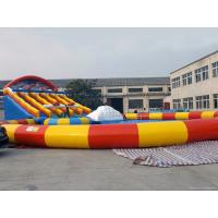 China Giant Inflatable Water Games / Water Park / Water Amusement Park For Entrainment on sale