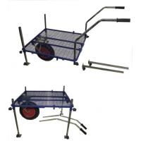 China Stable Fishing Tackle Trolley with Mesh Platform, Removable Legs wholesale
