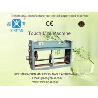 China Simple Paperboard Folding And Gluing Machine , Carton Box Forming Machine on sale