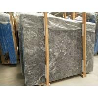 China Decorative Grey Marble Floor Tiles Pattern Polished With White Veins wholesale
