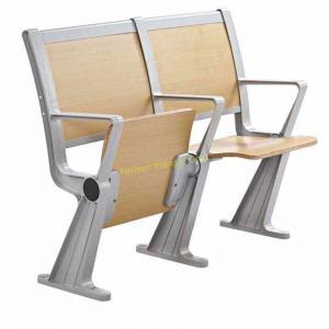 China XJ-K35B Fireproof Flame Retardant Coating Plywood Aluminum Frame Amphitheater Chair Desk wholesale