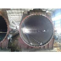 China Φ2.68m Steam Pressure Horizontal Cylinder Autoclave / AAC Block Plant Autoclave wholesale