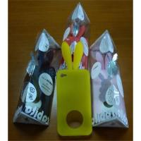 China Rabbit Cell Phone Back Case for iPhone 4 wholesale