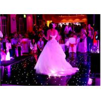 China Rgb Stage Lighting Slim Video Dance Floor For Wedding Party Events , 3 Years Warranty wholesale