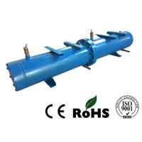China Long Life Horizontal Shell And Tube Condenser For Central Air Conditioning wholesale