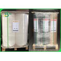 China 80gsm 93gsm 120gsm Heatable Woodfree Paper + PE Coated For Waterproof Bag on sale