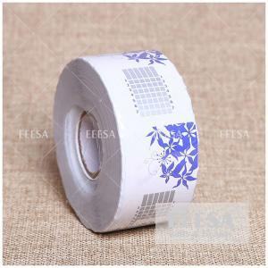 China Factory OEM 500PCS Custom Extension Rectangle Shape Nail Acrylic Form UV Nail Art Form wholesale