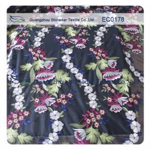 China Coast Multi - Color Floral Lace Fabric Cotton Lace Trim For Wedding Dress wholesale